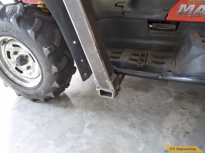 Bombardier ATV Loader tower mount