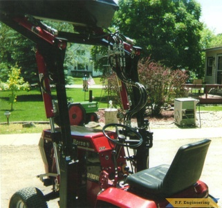 wheelhorse loader rear by Charles D., Medford, MN
