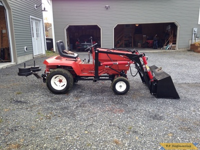 Gravely loader right side buy Grant R., Milton, VT