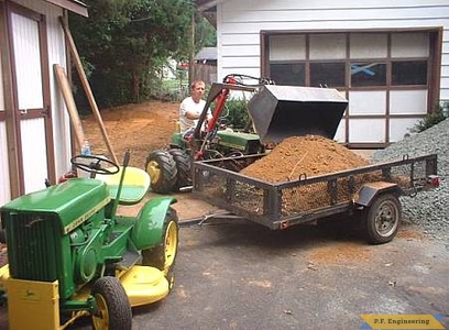 John Deere 110 loader with duals by Jerry