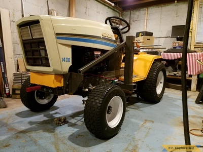 Cub Cadet 1430 loader build by Kyle H., Minneapolis, MN