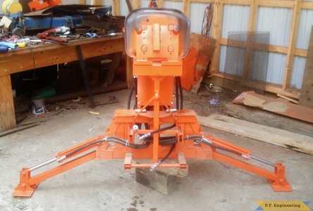 Kubota BX 2370 Micro Hoe off tractor by Rob A., Hadley, MA