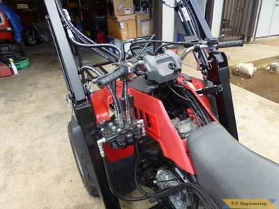 honda ATV loader controls by Sunny N., Honolulu, HI
