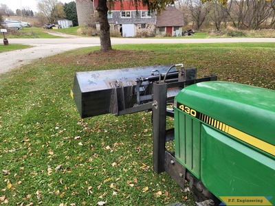 Alan B. from Neosho, WI JD430 mini payloader