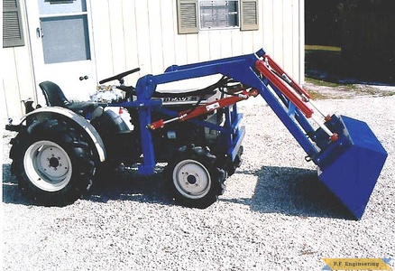 Satoh Beaver S-370D compact tractor loader_1