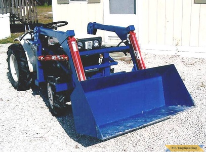 Satoh Beaver S-370D compact tractor loader_3