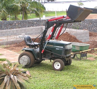Sears Craftsman GT-5000 garden tractor loader_1