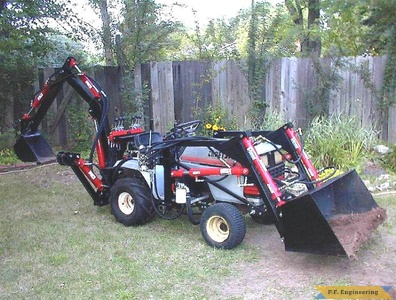 Sears Craftsman GT-5000 Garden Tractor Loader_2
