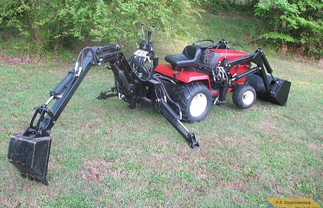 Sears Craftsman GT5000 backhoe and loader_1